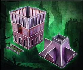 Plast Craft Games: Malifaux Terrain ColorED: The Tower