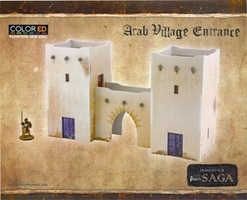 Plast Craft Games: SAGA COLORED: Arab Village Entrance