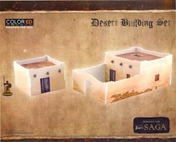 Plast Craft Games: SAGA COLORED: Desert Building Set
