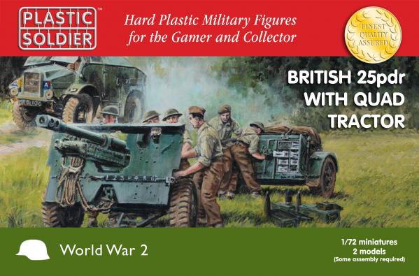 Plastic Soldier Company: 1/72 British: 25pdr with Quad Tractor