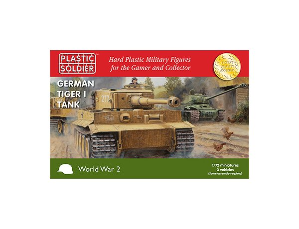 Plastic Soldier Company: 1/72 German: Tiger 1 Tank