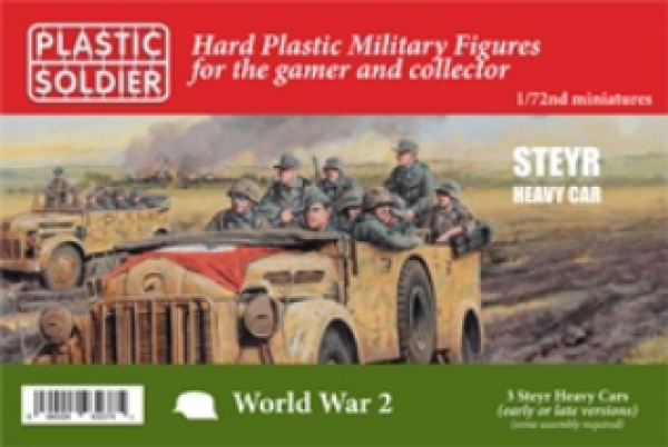 Plastic Soldier Company: 1/72 Russian: Steyr Heavy Car