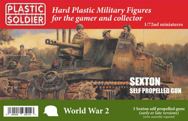 Plastic Soldier Company: 1/72: Sexton Self Propelled Gun