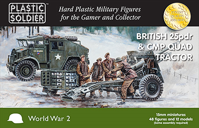 Plastic Soldier Company: 15mm British: 25pdr & CMP Quad Tractor