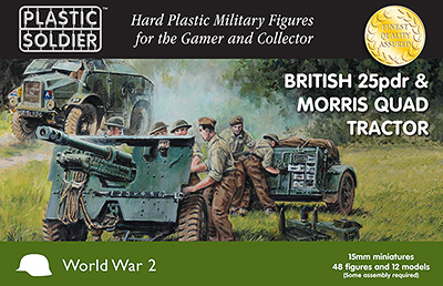 Plastic Soldier Company: 15mm British: 25pdr & Morris Quad Tractor
