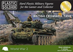 Plastic Soldier Company: 15mm British: Cromwell Tank