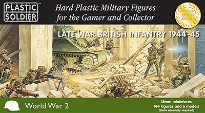 Plastic Soldier Company: 15mm British: Late War British Infantry 1944-45