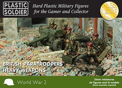 Plastic Soldier Company: 15mm British: Paratroopers Heavy Weapons