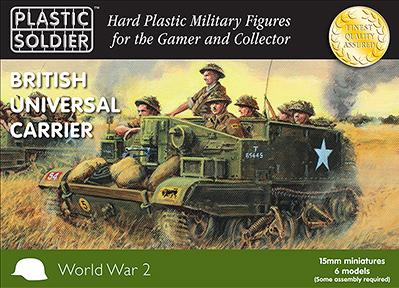 Plastic Soldier Company: 15mm British: Universal Carriers