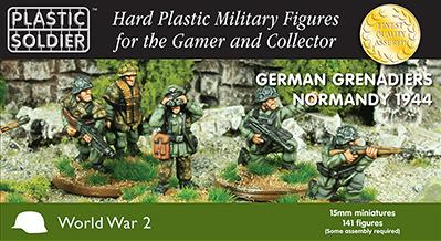 Plastic Soldier Company: 15mm German: Grenadiers Normandy 1944