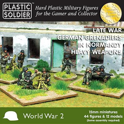 Plastic Soldier Company: 15mm German: Late War German Grenadiers in Normandy Heavy Weapons