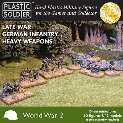 Plastic Soldier Company: 15mm German: Late War German Infantry Heavy Weapons