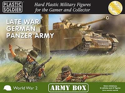 Plastic Soldier Company: 15mm German: Late War Panzer Army