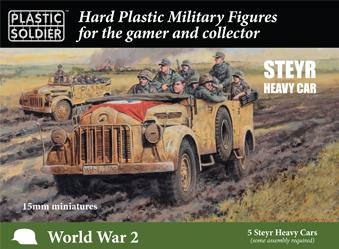 Plastic Soldier Company: 15mm German: Steyr Heavy Car