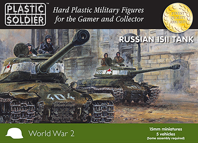 Plastic Soldier Company: 15mm Russian: IS2 Tank