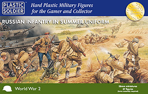 Plastic Soldier Company: 28mm Russian: Infantry In Summer Uniforms