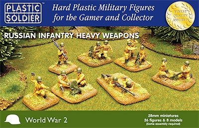 Plastic Soldier Company: 28mm Russian: Heavy Weapons