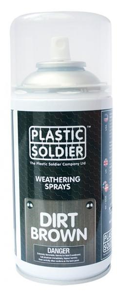 Plastic Soldier Company: Weathering Spray Paints: Dirt Brown