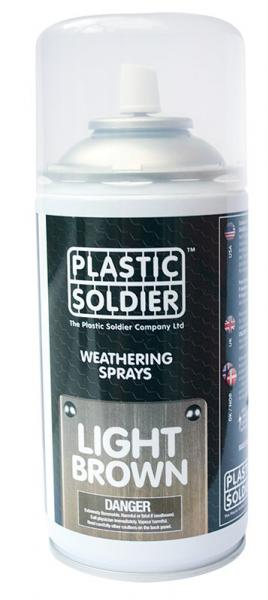 Plastic Soldier Company: Weathering Spray Paints: Light Brown