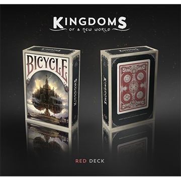 Playing Cards: Kingdoms of a New World (Red) [Damaged]