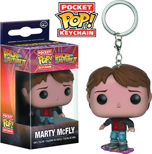 Pocket POP! Keychain: Back to the Future 2- Marty McFly