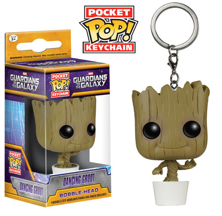 Pocket POP! Keychain: Guardians of the Galaxy- Dancing Groot