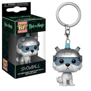 Pocket POP! Keychain: Rick & Morty - Snowball