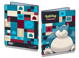 Pokemon: 9 Pocket Snorlax Binder