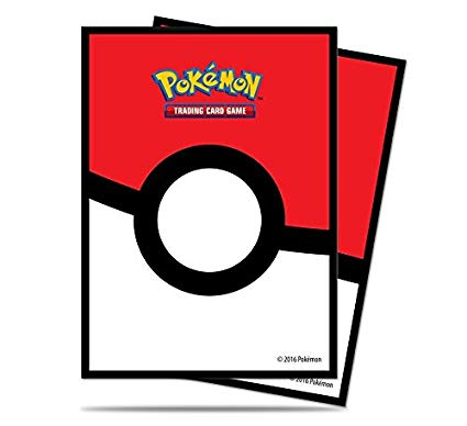 Pokemon Deck Protector Sleeves: Pokeball - Standard Size (65)