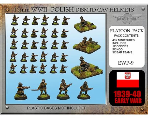 Forged in Battle: Polish: Early War Cavalry Dismounted (Helmet)