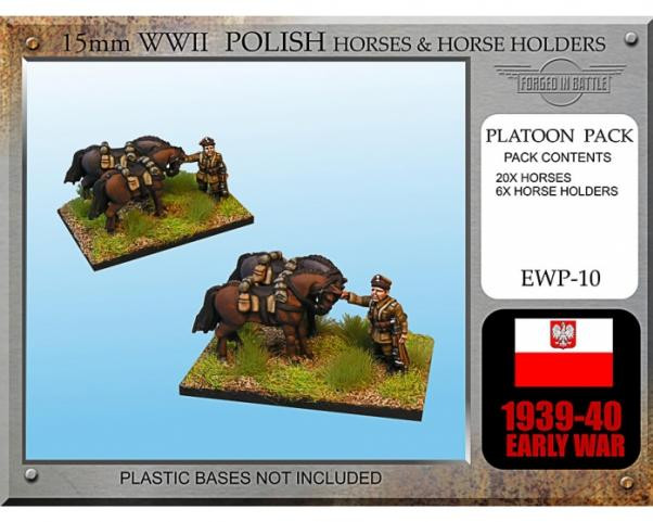 Forged in Battle: Polish: Early War Cavalry Horses and Horse Holders