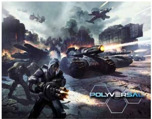 Polyversal: Core Game (With Miniatures)