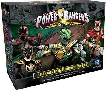 Power Rangers: Heroes of the Grid- Legendary Ranger: Tommy Oliver Pack