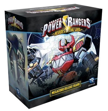 Power Rangers: Heroes of the Grid- Megazord Deluxe Figure