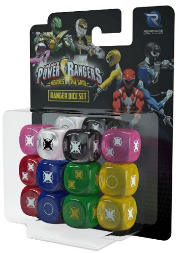 Power Rangers: Heroes of the Grid- Ranger Dice Set