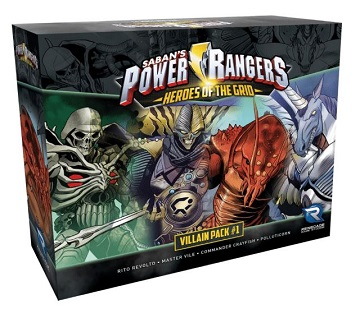 Power Rangers: Heroes of the Grid- Villain Pack #1