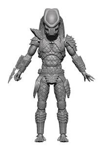 Predator 2: WARRIOR PREDATOR PX 1/18 SCALE FIGURE