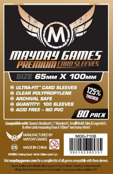 Mayday: Premium Magnum Ultra-Fit Copper Sleeves: 65mm x 100mm