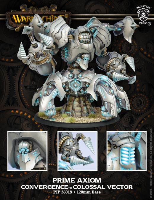 Warmachine: Convergence of Cyriss (36018): Prime Axiom