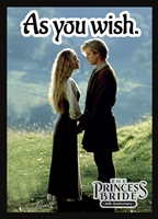 Princess Bride 30th Anniversary: Sleeves- As you wish.