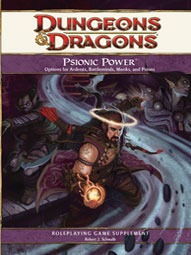 D&D 4th Edition: Psionic Power