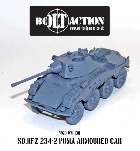 Bolt Action: German: Puma Armoured Car