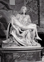Puzzle (1000 Piece): La Pieta (Damaged)