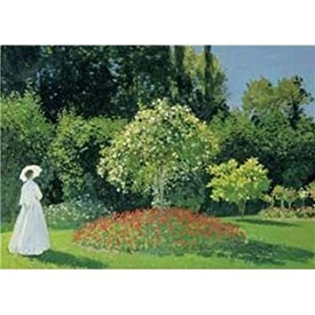Puzzle (1500 Piece): The Woman In Garden (Damaged)
