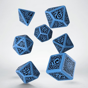 Q-Workshop: 7 Dice Set- Call Of Cthulhu: Outer Gods - Azatoth