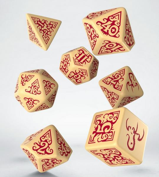 Q-Workshop: 7 Dice Set- Cthulhu: Masks of Nyarlathotep
