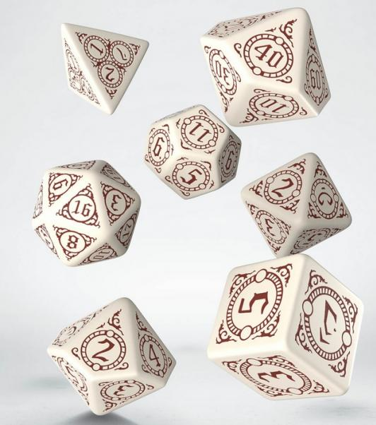 Q-Workshop: 7 Dice Set- Pathfinder: Return of the Runelords