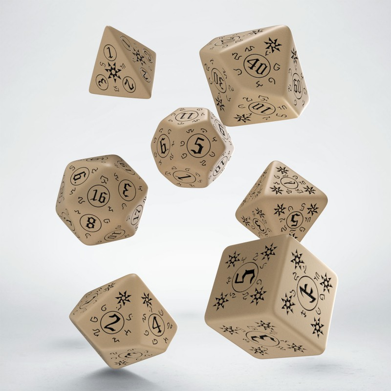 Q-Workshop: 7 Dice Set- Pathfinder: Rise of the Runelords
