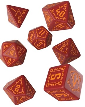 Q-Workshop: Exotic Dice 7 Dice Set- Pathfinder: Age of Ashes