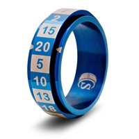 R20 Ring: Blue: Size 7